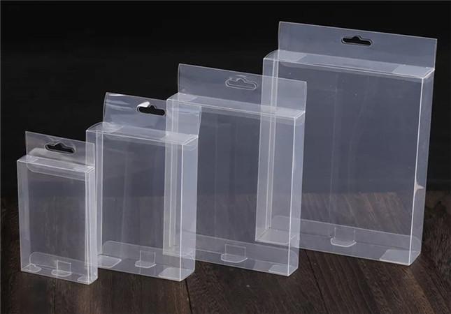 电子产品包装,透明折盒
