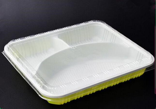 一次性环保餐盒,PP微波吸塑饭盒
